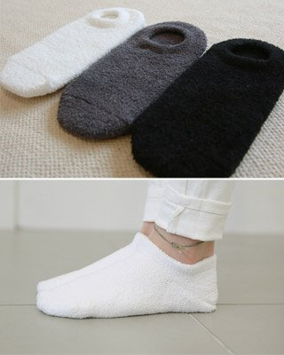 뽀송이 socks (3color)