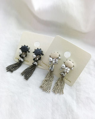 빈티지 earring (2color)