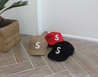S cap (3color)